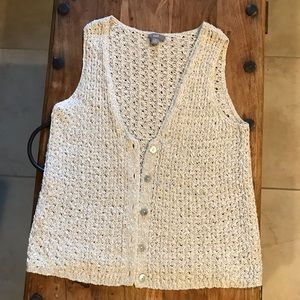 J. Jill button down vest